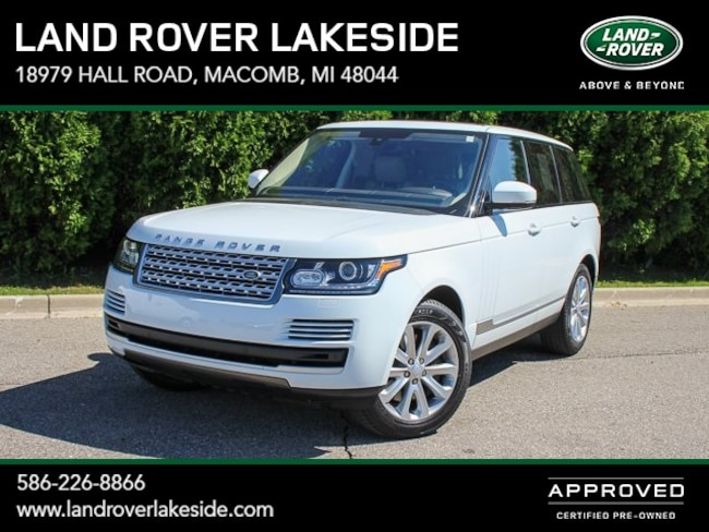 Pre-Owned 2016 Land Rover Range Rover 3.0L V6 Supercharged HSE SUV in Macomb, MI