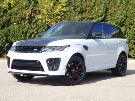Featured New 2021 Land Rover Range Rover Sport SVR SUV for sale in Macomb, MI