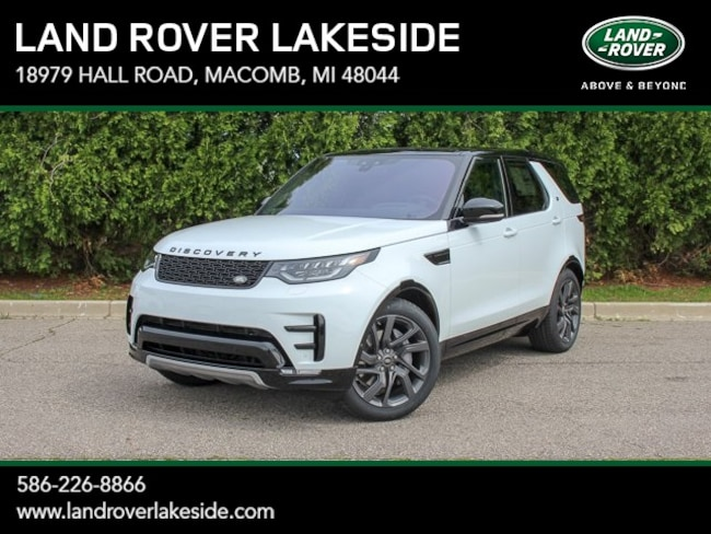 New 2019 Land Rover Discovery HSE Luxury SUV in Macomb, MI