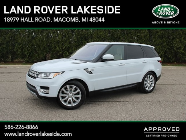 Pre-Owned 2016 Land Rover Range Rover Sport 3.0L V6 Supercharged HSE SUV in Macomb, MI