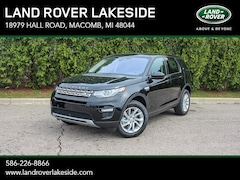 New 2019 Land Rover Discovery Sport HSE SUV KH813776 in Macomb, MI