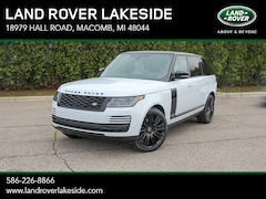New 2019 Land Rover Range Rover Supercharged SUV KA550814 in Macomb, MI