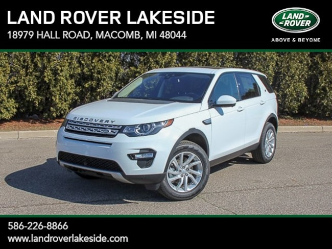 New 2019 Land Rover Discovery Sport HSE SUV in Macomb, MI