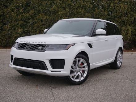 Featured New 2021 Land Rover Range Rover Sport HSE Dynamic SUV for sale in Macomb, MI