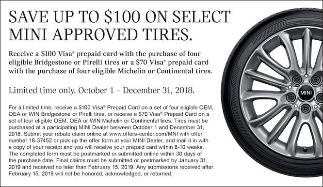 bridgestone pirelli michelin or continental tire offer - Rent A Car With Prepaid Card