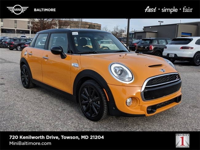 2018 MINI Hardtop 4 Door Cooper S Hatchback