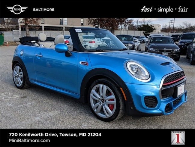 2018 MINI Convertible John Cooper Works Convertible