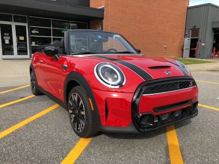 Featured new 2022 MINI Convertible Cooper S Convertible for sale in Shelburne, VT