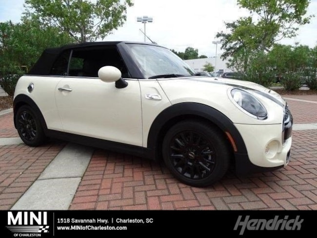 New 2019 MINI Convertible Cooper S Convertible in Charleston