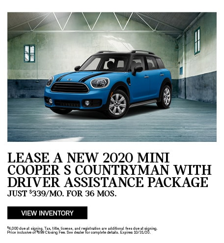2020 MINI Cooper S Countryman With Driver Assistance