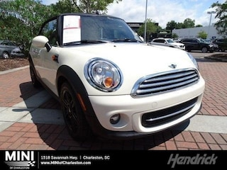 Certified Pre-Owned 2015 MINI Cooper Convertible 2dr Convertible for sale in Charleston