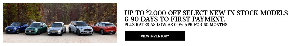 Up to $2k Off New Models & 90 Days Deferred Payment