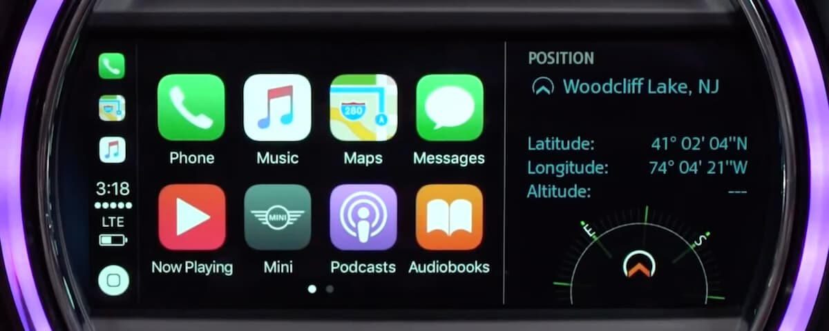 MINI Apple CarPlay