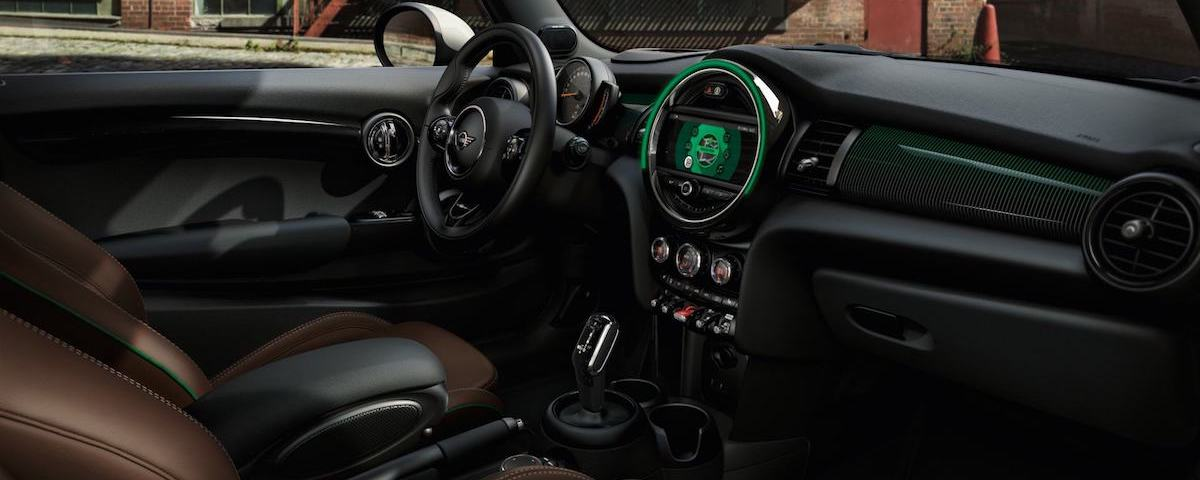 60 Years Special Edition MINI Cooper interior