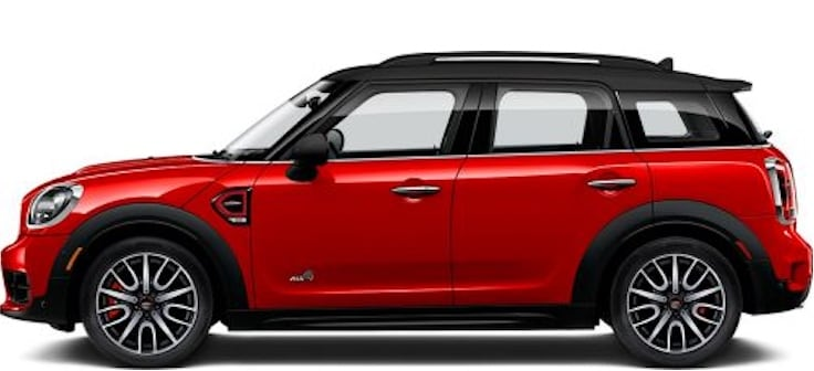 2019 MINI Countryman ALL4 John Cooper Works