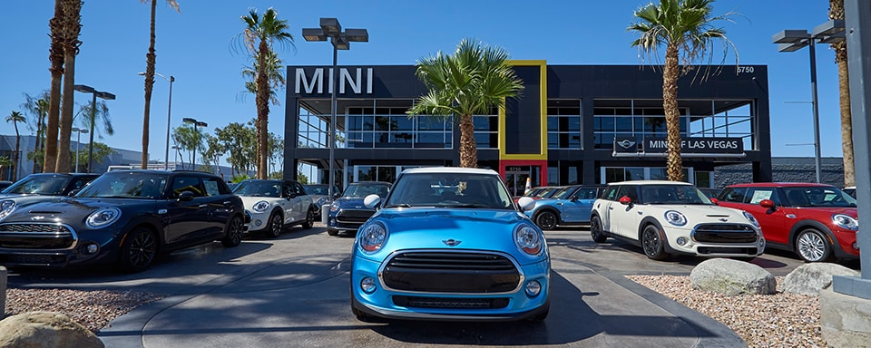 Outside view of MINI of Las Vegas