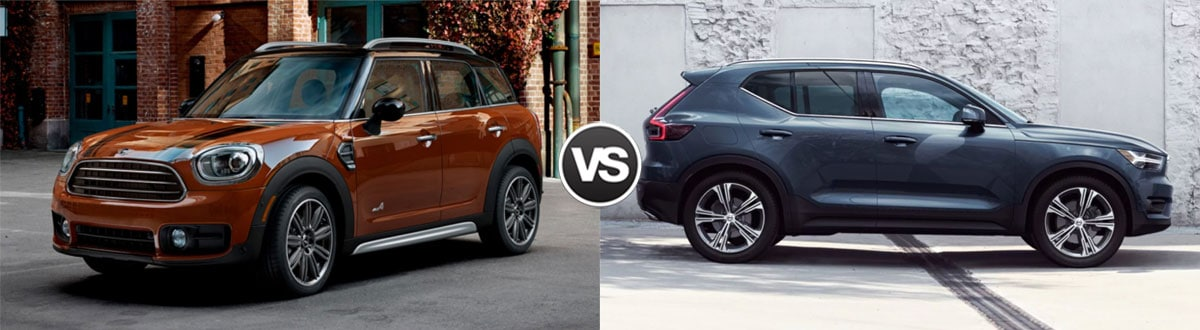 2019 MINI Countryman vs 2019 Volvo XC40