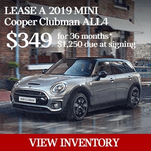 Year End Blow Out Special - MINI Clubman and Clubman S
