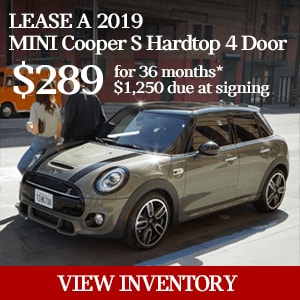 Year End Blow Out Special - MINI 4 Door Cooper and Cooper S