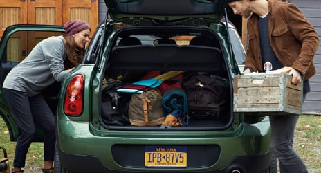 4 Door 2019 MINI Cooper Hardtop cargo space