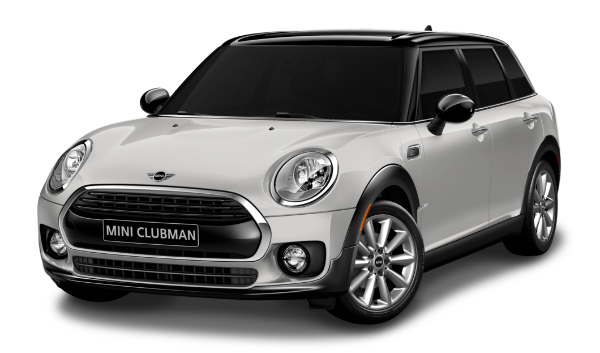 Exterior of the 2019 MINI Clubman on white