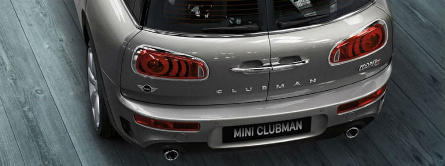 2019 MINI Clubman tail lights
