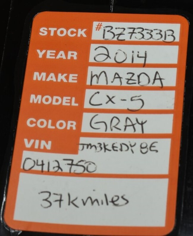 Mazda 6 Grand Touring For Sale: Used 2014 Mazda Mazda CX-5 For Sale At MINI Of Orland Park