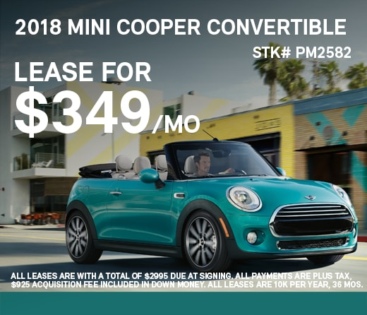 Lease Specials Mini Of Pittsburgh