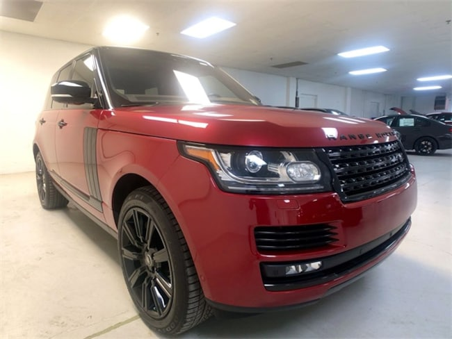 Used 2017 Land Rover Range Rover For Sale At Mini Of Pittsburgh