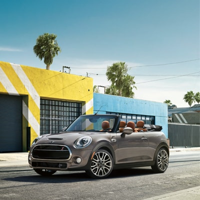 MINI Convertible Interior and Exterior Vehicle Features
