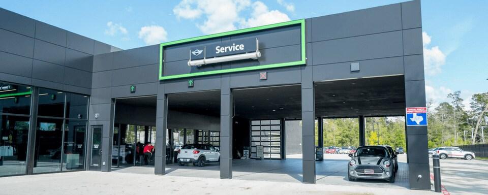Mini Of The Woodlands >> Mini Service Center In Conroe Tx Mini Of The Woodlands