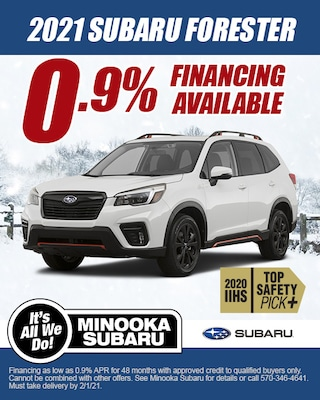 FORESTER FINANCING