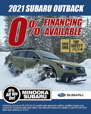 OUTBACK FINANCING