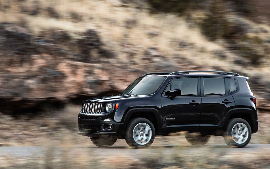 A Jeep Renegade Off-Road