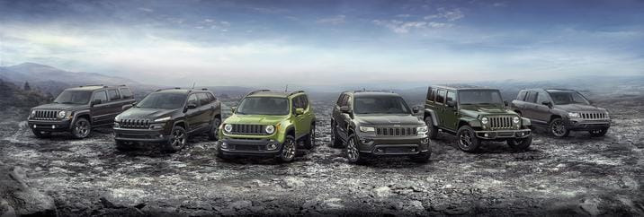 2016 Jeep 75th Anniversary Edition Models