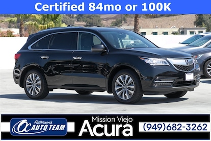 2016 Acura Mdx For Sale >> 2016 Certified Used Acura Mdx For Sale Orange County 5fryd4h43gb057521