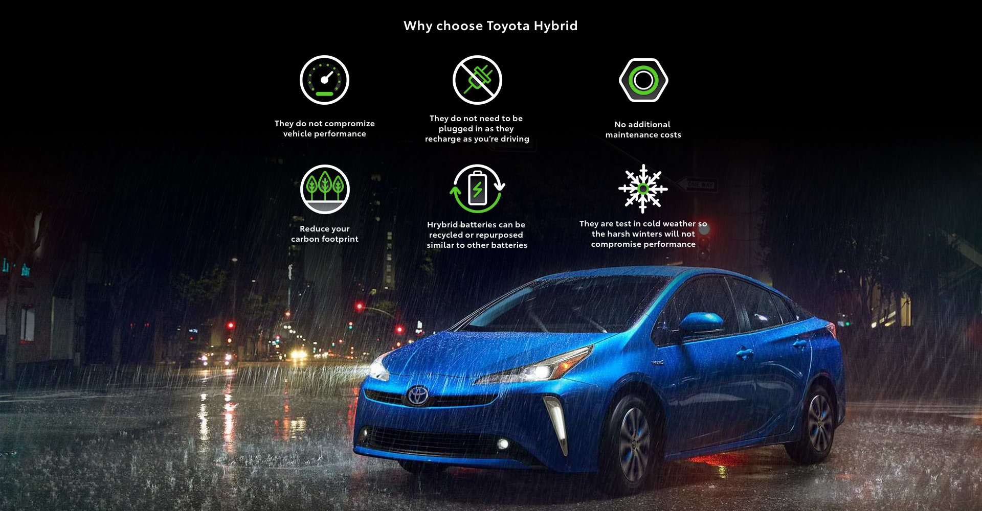 Why Choose Toyota Hybrids
