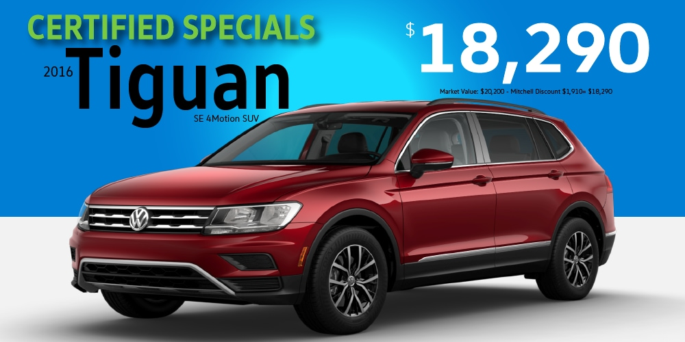 certified pre owned specials mitchell volkswagen canton ct