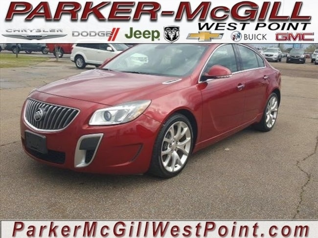 2013 Buick Regal GS Sedan