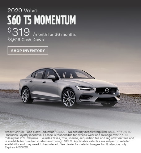 2020 Volvo S60 Lease