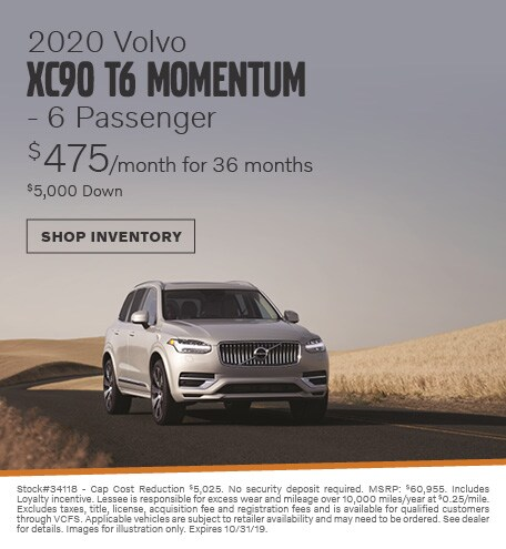 2020 Volvo XC90 T6 Momentum