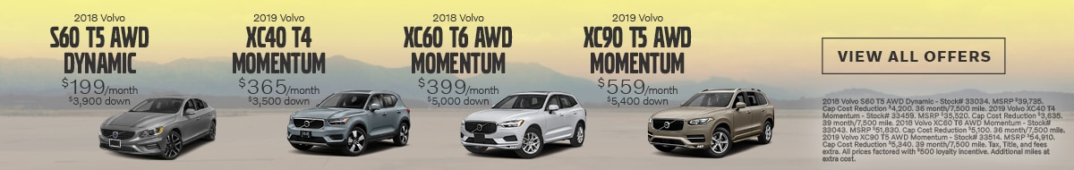 New Volvo Cars For Sale in Simsbury CT | Near Hartford CT