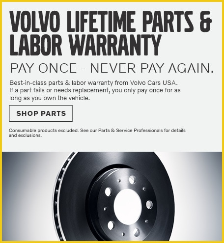 August | Volvo Lifetime Parts & Labor