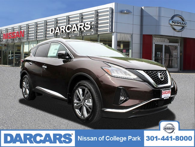 New 2019 Nissan Murano Platinum SUV in College Park, MD