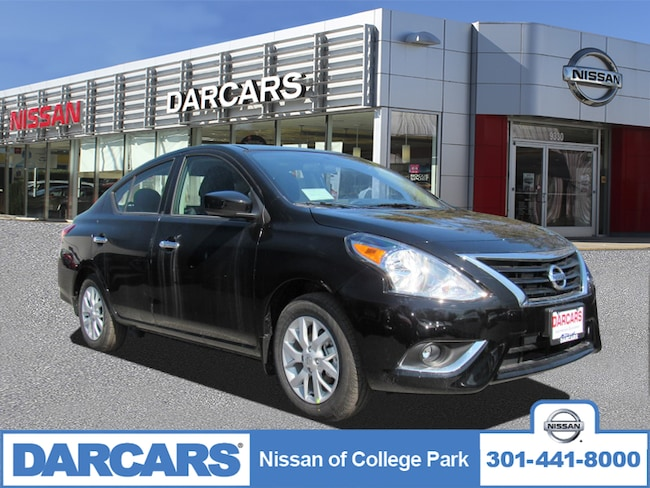 New 2019 Nissan Versa 1.6 SV Sedan in College Park, MD