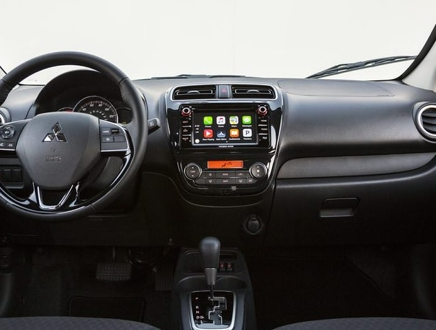 new mitsubishi mirage technology