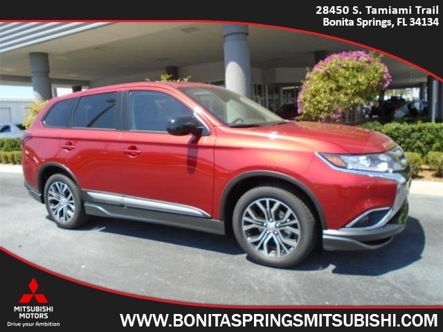 new 2018 mitsubishi outlander for sale at bonita springs mitsubishi