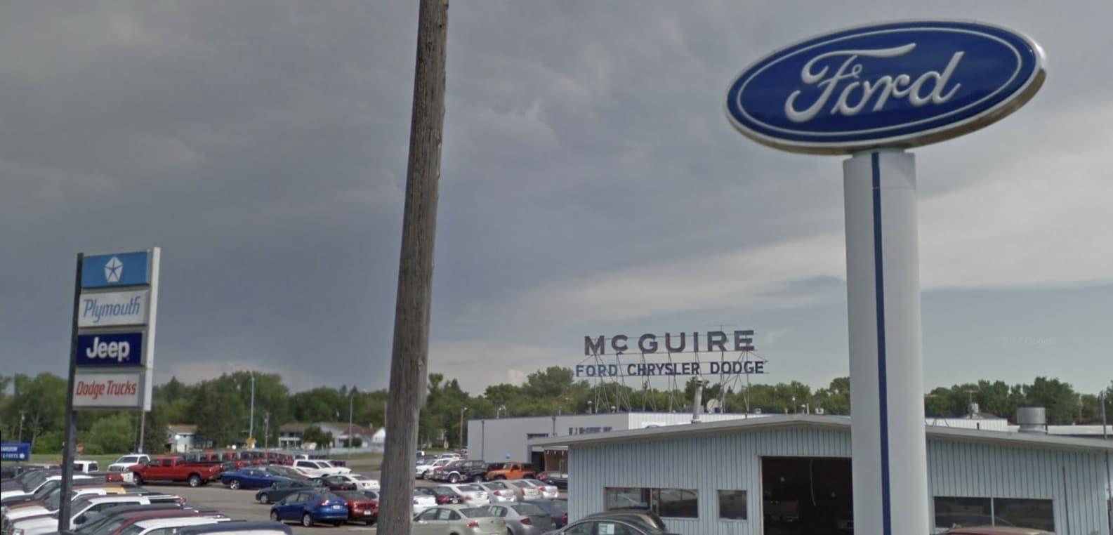 Mj Mcguire Ford Splash Dealership In
