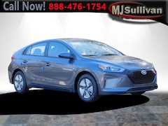 New 2019 Hyundai Ioniq Hybrid Blue Hatchback New London Connecticut