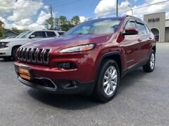 2017 Jeep Cherokee Limited 4x4 SUV